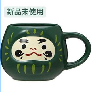 スターバックスコーヒー(Starbucks Coffee)のスターバックス 福袋 2021年 だるま グリーン 緑 マグだるま(マグカップ)