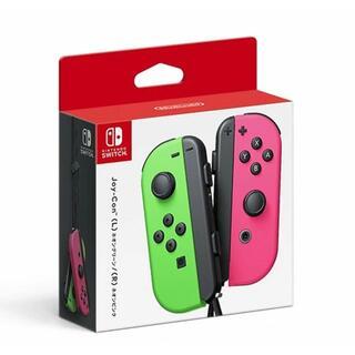 Nintendo Switch - 【即納★新品】NSW Joy-Con(L) ネオングリーン/(R) ネオンピンク