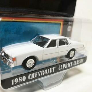シボレー(Chevrolet)のGLグリーンライト/'80 Chevyシボレー Capriceカプリス 1/64(ミニカー)