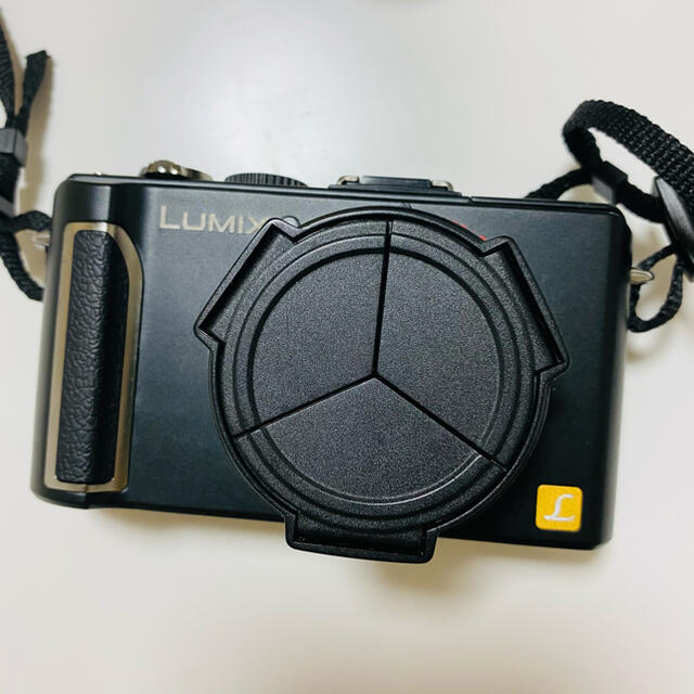 Panasonic(パナソニック)の【かなり美品】Panasonic 一眼 カメラ DMC-LX3 スマホ/家電/カメラのカメラ(デジタル一眼)の商品写真