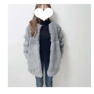 ムルーア(MURUA)のムルーア ファーアウター コート(毛皮/ファーコート)