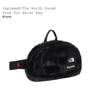 シュプリーム(Supreme)のsupreme the northface faux fur waist bag(ウエストポーチ)