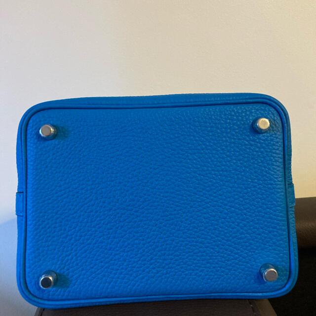 Hermes(エルメス)のピコタンロック 18PM  ブルーフリーダ トリヨン レディースのバッグ(ハンドバッグ)の商品写真