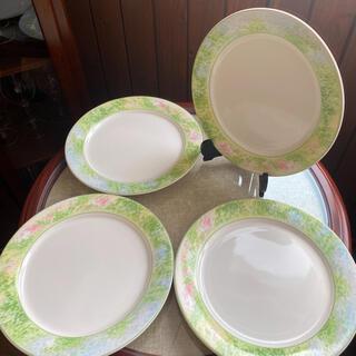 ノリタケ(Noritake)の春色 パスタ皿 4枚 27.6センチ(食器)