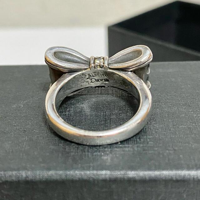 Justin Davis(ジャスティンデイビス)のJustin Davis  Promise Ring  リボンリング レディースのアクセサリー(リング(指輪))の商品写真