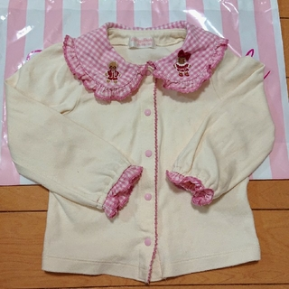 シャーリーテンプル(Shirley Temple)のシャーリーテンプル ジンジャーマン ブラウス 90(Tシャツ/カットソー)