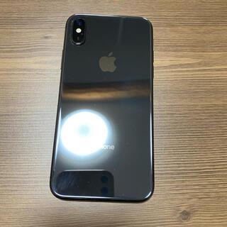 Apple - iPhone X Space Gray 64 GB Softbank