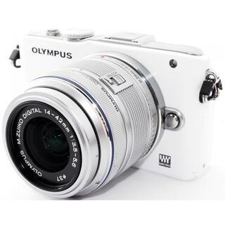 OLYMPUS - OLYMPUS PEN E-PL3 ホワイト