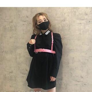 one spo - 新品onespoワンスポ・ネクタイ付シャツワンピース