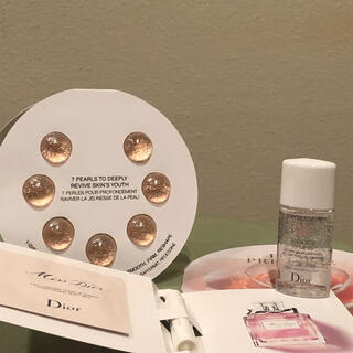 Dior - 【最上級】Dior サンプルセット プレステージ ローズ セラム