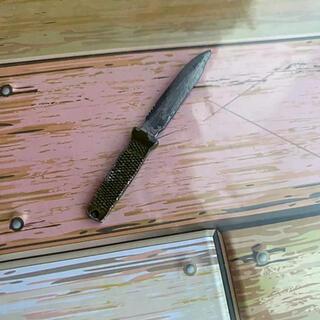 ミニチュア 玩具 ナイフ 武器 短剣 12インチ GIジョー ミリタリー 武装品(ミリタリー)