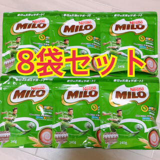 ネスレ(Nestle)のミロ ネスレ 240g  8パックセット(その他)