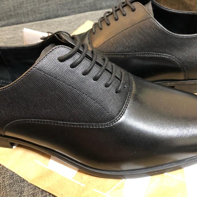 ZARA(ザラ)の【新品】送料込 ZARAドレスシューズ 黒 メンズの靴/シューズ(ドレス/ビジネス)の商品写真