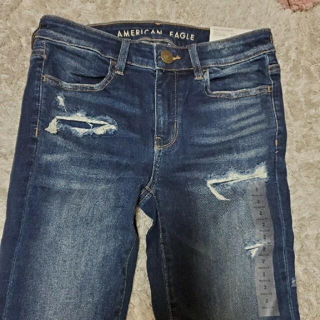 American Eagle(アメリカンイーグル)の《大幅値下げ中》《最終値下げ》アメリカンイーグル JEGGING ズボン レディースのパンツ(スキニーパンツ)の商品写真