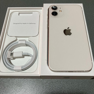 Apple - iPhone12 mini 本体 白 64G