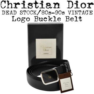 Christian Dior - 美品★Christian Dior★ディオール★DEAD STOCK★ベルト★黒