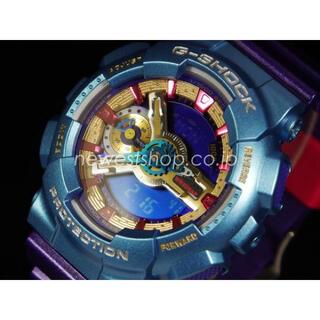 G-SHOCK - 海外版G-SHOCK  GMA-S110HC 腕時計 パープルライトブルー 新品