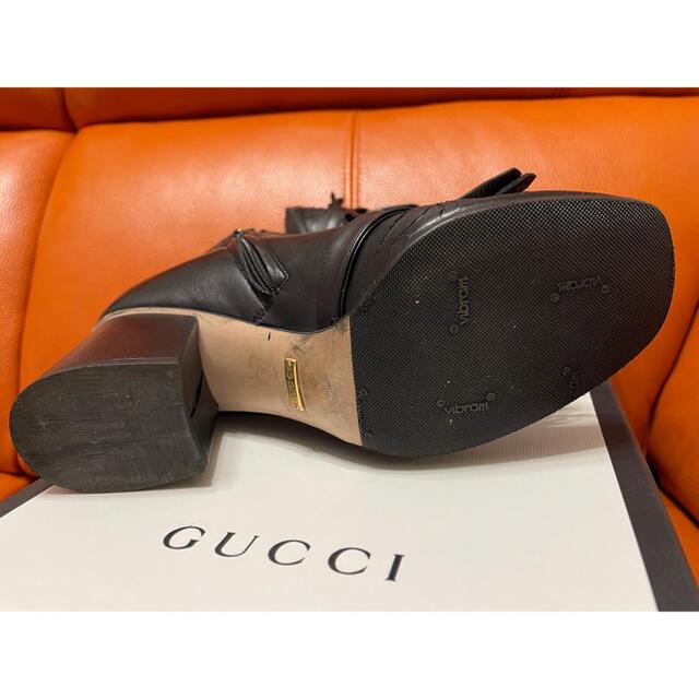 Gucci(グッチ)のGUCCI ショートブーツ マーモント ブーツ レディースの靴/シューズ(ブーツ)の商品写真