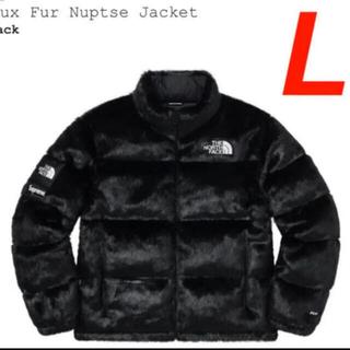 シュプリーム(Supreme)のSupreme/Faux Fur Nuptse Jacket northface(ダウンジャケット)