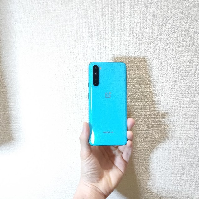 ANDROID(アンドロイド)のOneplus Nord ブルー 8GB/128GB【フォロー割】 スマホ/家電/カメラのスマートフォン/携帯電話(スマートフォン本体)の商品写真
