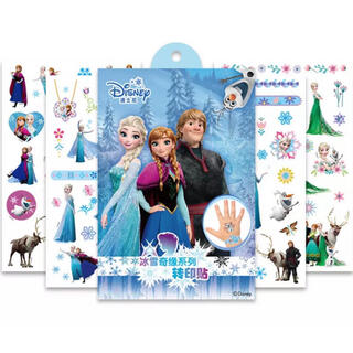 ディズニー(Disney)のアナ雪 アナと雪の女王 タトゥーシール ボディシール(シール)