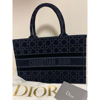 Dior - DIOR  BOOK TOTE スモールバッグ ベルベット
