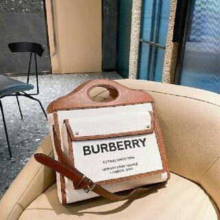 バーバリー(BURBERRY)のバーバリー  ポケットバッグ トートバッグ(シンバル)