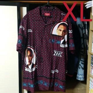 シュプリーム(Supreme)のSupreme シュプリーム オバマ シャツ shirt 柄物 XL(シャツ)