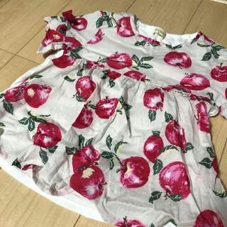 KP - トロワラパン りんご柄 120 トップス チュニック KP