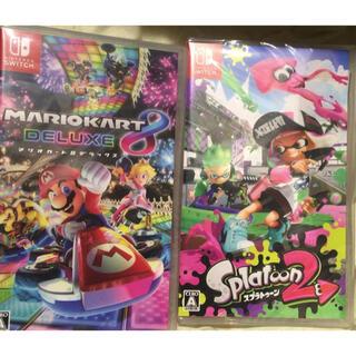 Nintendo Switch - ★新品★マリオカート8 デラックス+スプラトゥーン2 Switchソフトセット