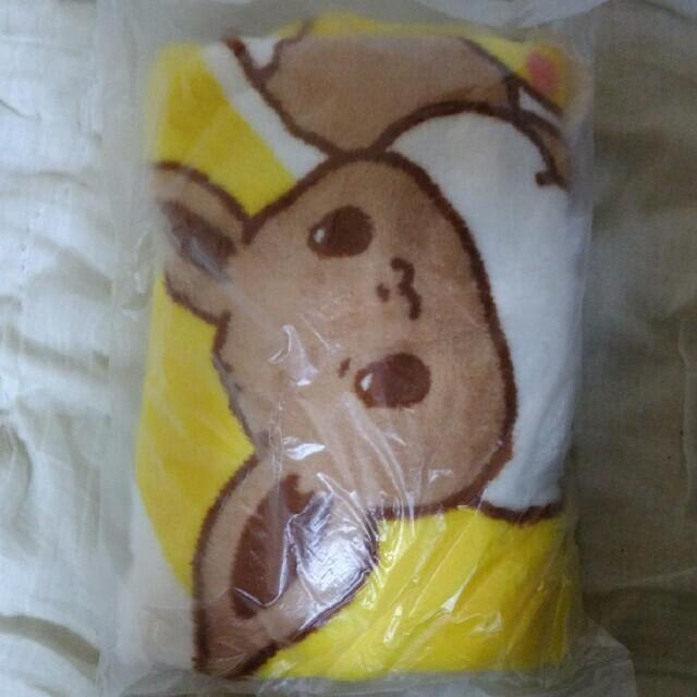 新品ミスドブランケットポケモン エンタメ/ホビーのおもちゃ/ぬいぐるみ(キャラクターグッズ)の商品写真