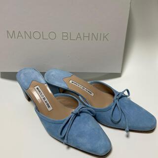 MANOLO BLAHNIK - MANOLO BLAHIK  サンダル パンプス