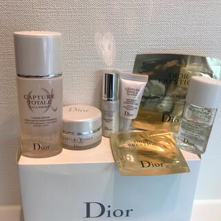 Dior - Dior カプチュールトータル スノー プレステージ スキンケアセット