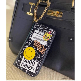 GOOD GRIEF SMILE patched iphone cover