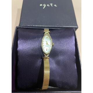 アガット(agete)の美品 agete classic K10アガット クラシック シャンパンゴールド(腕時計)