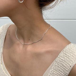 トゥデイフル(TODAYFUL)のCARA s snake chain necklace♡GOLD(ネックレス)