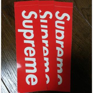 シュプリーム(Supreme)の正規品 SUPREME ステッカー 3枚(その他)