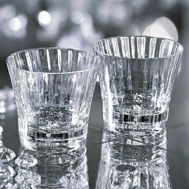 Baccarat(バカラ)のバカラ ミルニュイ ペア タンブラー グラス インテリア/住まい/日用品のキッチン/食器(食器)の商品写真