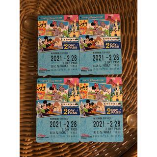 ディズニー(Disney)のディズニーリゾートライン2DAYPASS(鉄道乗車券)