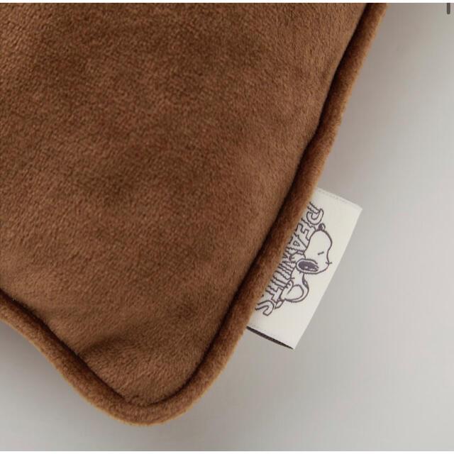 UNIQLO(ユニクロ)の★レア完売★新品未使用 ユニクロ ピーナッツ ホリデー コレクション クッション レディースのルームウェア/パジャマ(ルームウェア)の商品写真