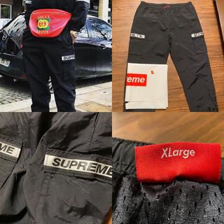 シュプリーム(Supreme)のXL reflective taping cargo Pant supreme(その他)
