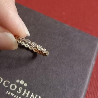 COCOSHNIK - ココシュニック K10 ダイヤモンドフルエタニティリング