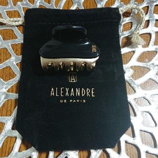 アレクサンドルドゥパリ(Alexandre de Paris)のバンドームクリップ(バレッタ/ヘアクリップ)