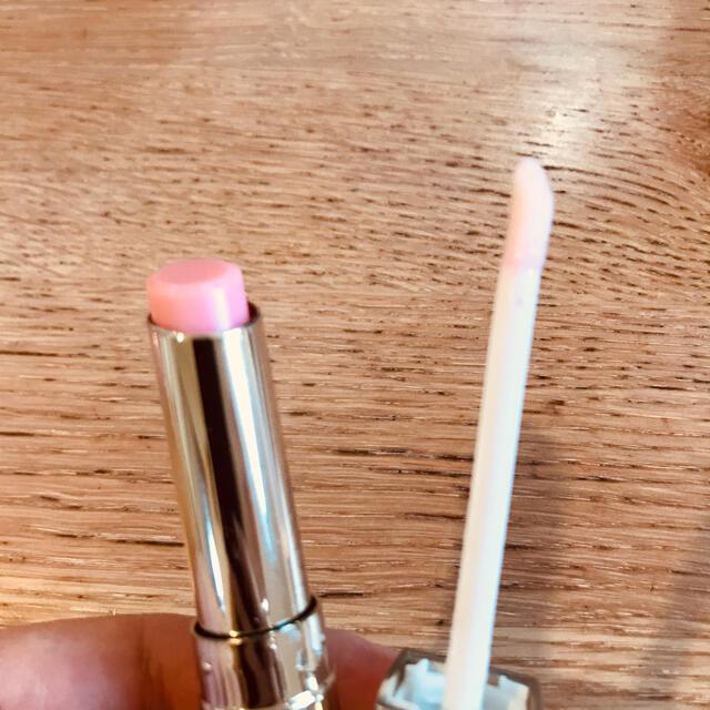 Dior(ディオール)の【新品未開封】Dior☆マキシマイザー001&リップグロウ001セット コスメ/美容のベースメイク/化粧品(リップグロス)の商品写真