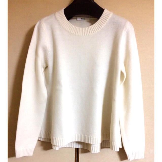 René(ルネ)のRene ふわふわセーター 34 ニット ウール カーディガン ワンピース メンズのトップス(ニット/セーター)の商品写真