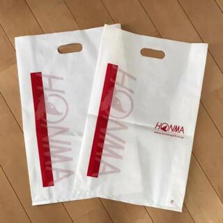 ホンマゴルフ(本間ゴルフ)のショップ袋2P(その他)