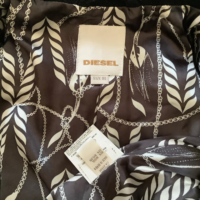 DIESEL(ディーゼル)のDIESEL ショートコート レディースのジャケット/アウター(ピーコート)の商品写真