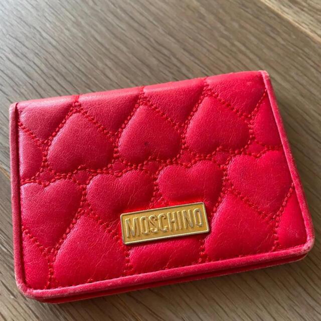 MOSCHINO(モスキーノ)のモスキーノ 定期入れ  パスケース カードケース moschino レディースのファッション小物(名刺入れ/定期入れ)の商品写真