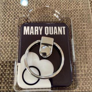 MARY QUANT - 【完売品】‼️MARY QUANT♫バンカーリング  スマホリングブラック
