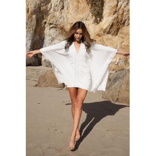 数量限定★ビーチで大活躍!海外セレブに人気 リゾートウェア 体型カバー(その他)